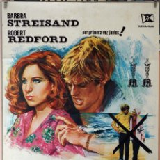 Cine: TAL COMO ÉRAMOS. BARBRA STREISAND-ROBERT REDFORD-SYDNEY POLLACK. CARTEL ORIGINAL 1974. 70X100. Lote 173946727
