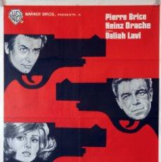 Cine: NUESTRO HOMBRE DE VIENA. CARTEL ORIGINAL 1966. 70X100. Lote 174033238