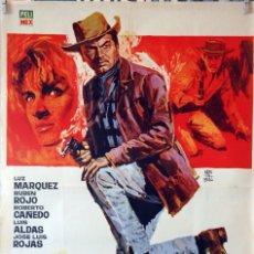 Cine: CONDENADOS A MUERTE. RAFAEL PORTILLO. CARTEL ORIGINAL 1965. 70X100. Lote 174033412