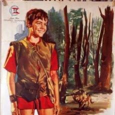 Cine: COTOLAY. VICENTE PARRA-JOSÉ BÓDALO-NIEVES CONDE. CARTEL ORIGINAL 1966. 70X100. Lote 174053630