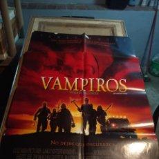 Cine: POSTER CINE : VAMPIROS ( JAMES WOODS, JOHN CARPENTER ). Lote 174072179