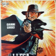 Cine: LLEGA SARTANA. ANTHONY ASCOTT. CARTEL ORIGINAL 1971. 70X100. Lote 174118903