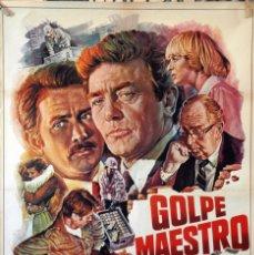 Cine: GOLPE MAESTRO. ALBERT FINNEY-MARTIN SHEEN-SUSANNAH YORK. CARTEL ORIGINAL 1981. 70X100. Lote 174120362