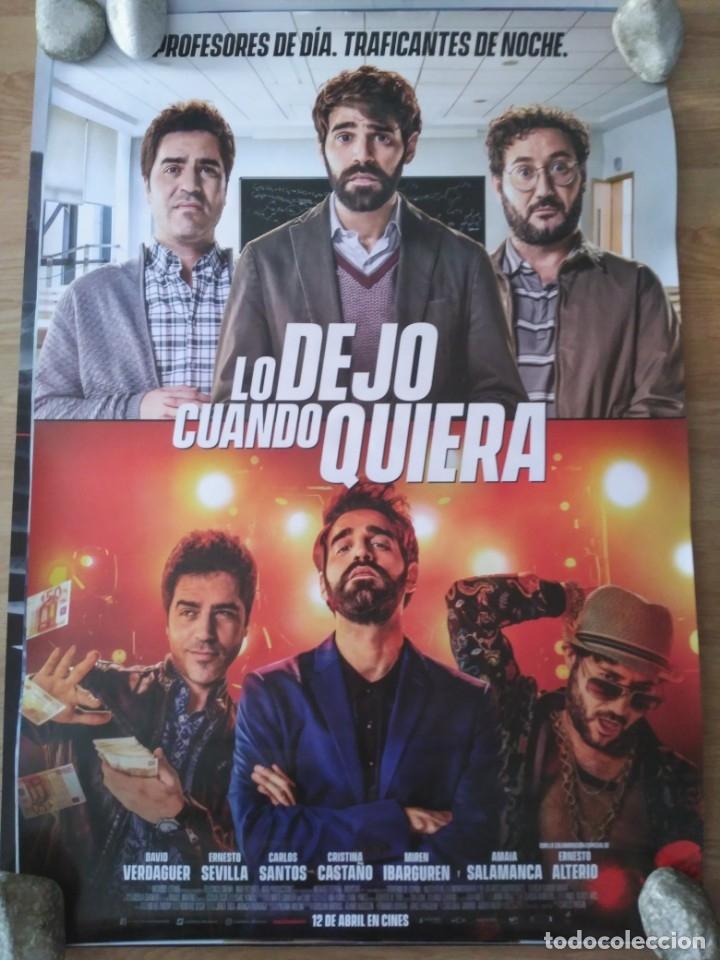 LO DEJO CUANDO QUIERA - APROX 70X100 CARTEL ORIGINAL CINE (L67) (Cine - Posters y Carteles - Clasico Español)