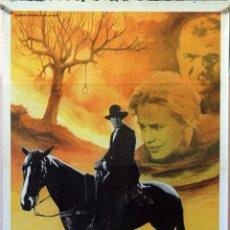 Cine: EL ÁRBOL DEL AHORCADO. GARY COOPER-KARL MALDEN-MARIA SCHELL. CARTEL ORIGINAL 1981. 70X100. Lote 174426903