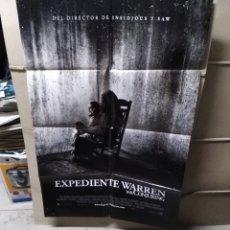 Cine: EXPEDIENTE WARREN THE CONJURING POSTER ORIGINAL 70X100 Q. Lote 174483919