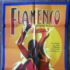 Cine: CARTEL FILM - FLAMENCO DE CARLOS SAURA - 60X80CM. Lote 174514928