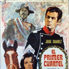 Cine: EL PRIMER CUARTEL. JOSÉ SUAREZ.-IGNACIO F. IQUINO. CARTEL ORIGINAL 1966. 70X100. Lote 174548583