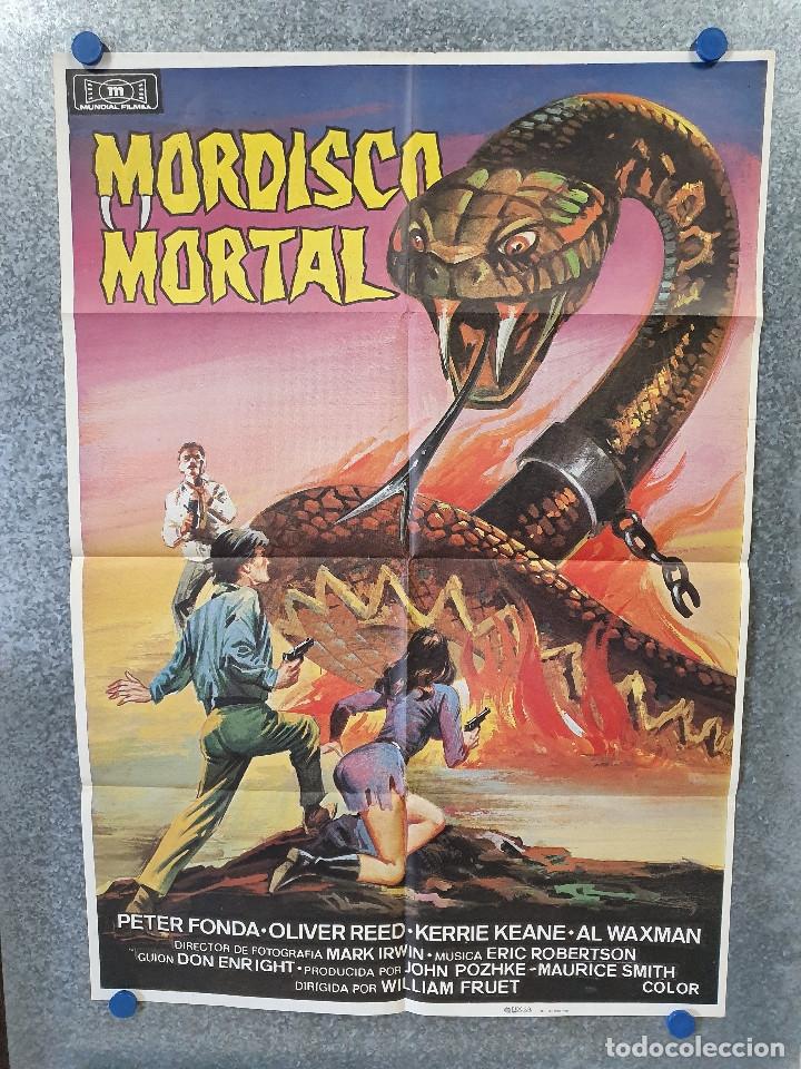 MORDISCO MORTAL. PETER FONDA, OLIVER REED, KERRIE KEANE. AÑO 1984. POSTER ORIGINAL (Cine - Posters y Carteles - Terror)