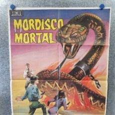 Cine: MORDISCO MORTAL. PETER FONDA, OLIVER REED, KERRIE KEANE. AÑO 1984. POSTER ORIGINAL. Lote 174592419
