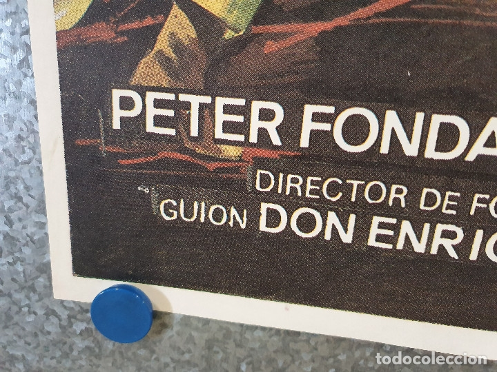 Cine: MORDISCO MORTAL. PETER FONDA, OLIVER REED, KERRIE KEANE. AÑO 1984. POSTER ORIGINAL - Foto 5 - 174592419