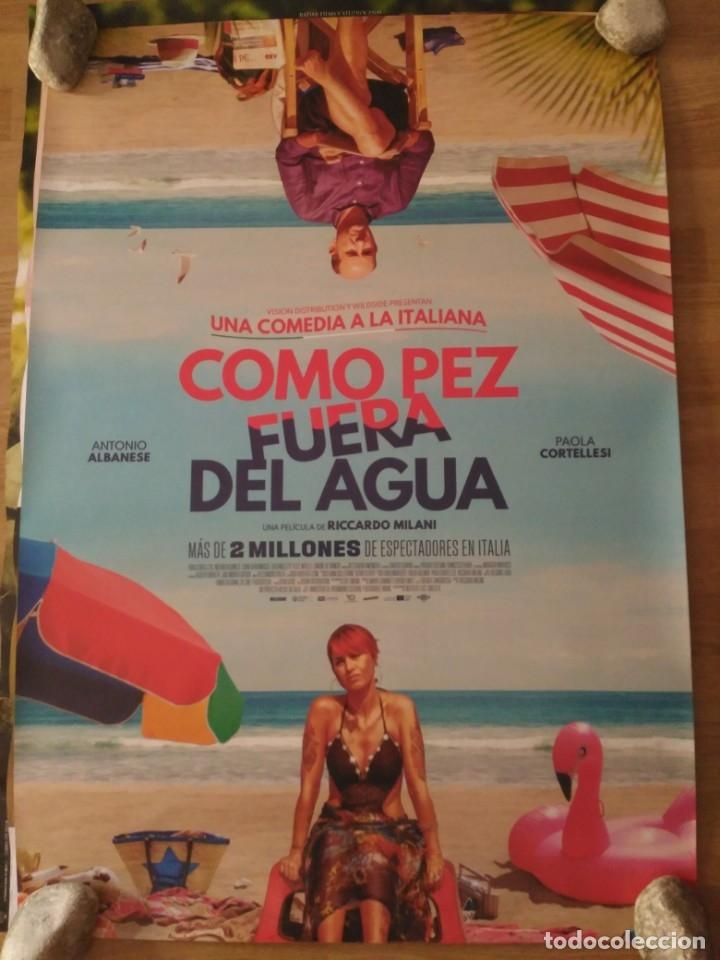 CÓMO PEZ FUERA DEL AGUA - APROX 70X100 CARTEL ORIGINAL CINE (L68) (Cine - Posters y Carteles - Comedia)