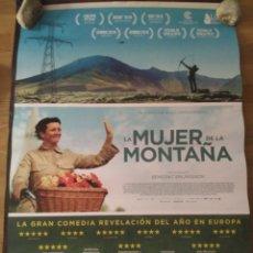 Cine: LA MUJER DE LA MONTAÑA - APROX 70X100 CARTEL ORIGINAL CINE (L68). Lote 174693154