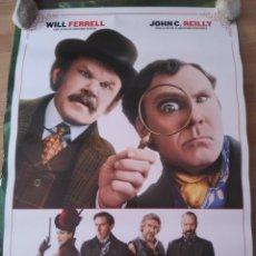 Cine: HOLMES & WATSON - APROX 70X100 CARTEL ORIGINAL CINE (L68). Lote 174694922