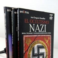 Cinéma: 3 LIBROS + DVD COLECCION ENIGMAS- EL OCULTISMO NAZI - CRIATURAS DE LAS TINIEBLAS - ENCLAVES MAGICOS. Lote 174970123