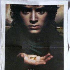 Cine: PÓSTER EL SEÑOR DE LOS ANILLOS - AÑO 2000 - ABC - KINÉPOLIS - UN ANILLO PARA GOBERNARLOS A TODOS. Lote 175361119
