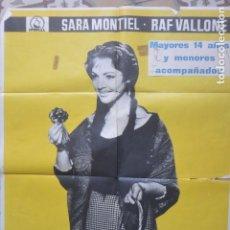 Cine: CARTEL POSTER CINE LA VIOLETERA SARA MONTIEL. Lote 175413199