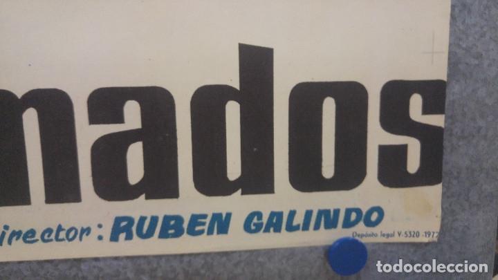 Cine: LOS DESALMADOS. MARIO ALMADA, FERNANDO ALMADA, LORENA VELAZQUEZ. AÑO 1972 POSTER ORIGINAL - Foto 4 - 175447668