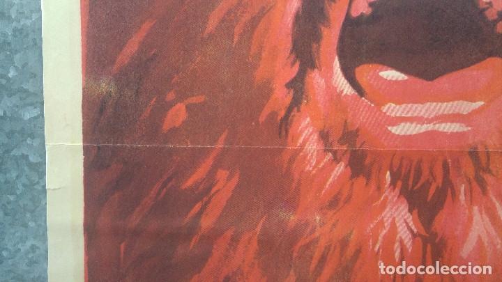 Cine: LOS DESALMADOS. MARIO ALMADA, FERNANDO ALMADA, LORENA VELAZQUEZ. AÑO 1972 POSTER ORIGINAL - Foto 6 - 175447668