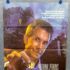 Cine: PSICOSIS III. ANTHONY PERKINS, DIANA SCARWID, JEFF FAHEY POSTER ORIGINAL. Lote 175473917