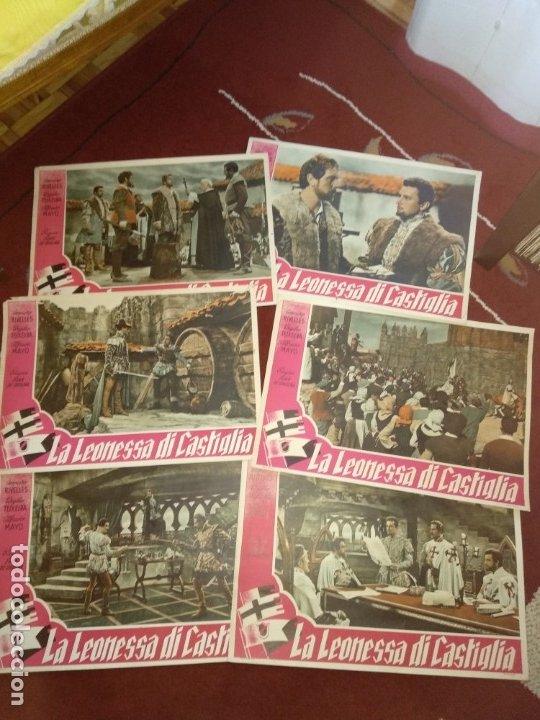 LA LEONA DE CASTILLA AMPARO RIVELLES, ALFREDO MAYO, CIFESA (Cine - Posters y Carteles - Clasico Español)