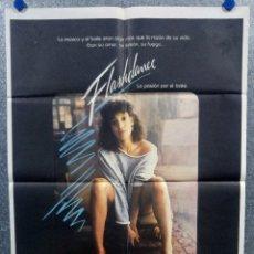 Cine: FLASHDANCE. JENNIFER BEALS, MICHAEL NOURI AÑO 1983. POSTER ORIGINAL. Lote 175617749