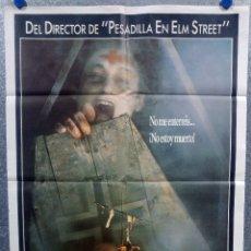 Cine: LA SERPIENTE Y EL ARCO IRIS. BILL PULLMAN, CATHY TYSON, ZAKES MOKAE AÑO 1987 POSTER ORIGINAL. Lote 240903080