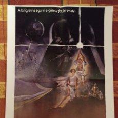 Cine: POSTER STAR WARS + SINSAJO (LOS JUEGOS DEL HAMBRE). Lote 175704245