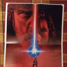 Cine: POSTER STAR WARS: EL ÚLTIMO JEDI + TWIN PEAKS. Lote 175705333