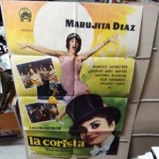 Cine: LA CORISTA MARUJITA DIAZ POSTER ORIGINAL 70X100 YY (2142). Lote 175791085