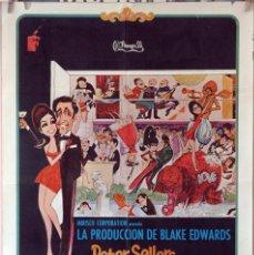 Cine: EL GUATEQUE. PETER SELLERS-BLAKE EDWARDS. CARTEL ORIGINAL 1968. 70X100. Lote 175900128