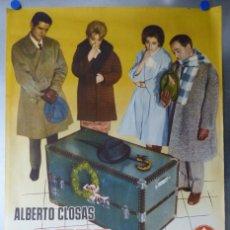 Cine: USTED PUEDE SER UN ASESINO, AÑO 1961 - ALBERTO CLOSAS, J.L. LOPEZ VAZQUEZ, JULIA GUTIERREZ CABA. Lote 175953045