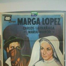 Cine: ORIGINAL MEXICAN POSTER RIFIFI EN EL CONVENTO MARGA LOPEZ CARLOS LARRAÑAGA 1960. Lote 176005175