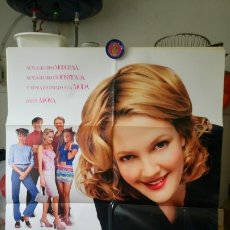 Cine: ORIGINAL SPANISH POSTER NEVER BEEN KISSED JAMAS BESADA DREW BARRYMORE 1999. Lote 176026293