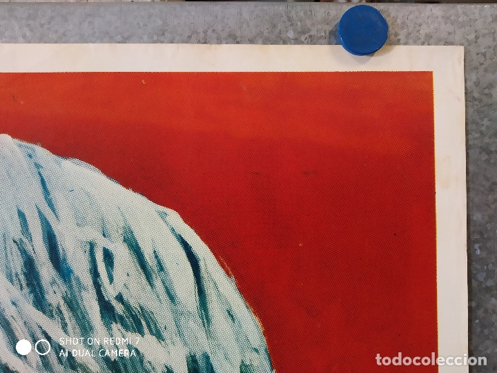 Cine: El ataque de los muertos sin ojos. Tony Kendall, Fernando Sancho, Esperanza Roy. POSTER ORIGINAL - Foto 3 - 176098233