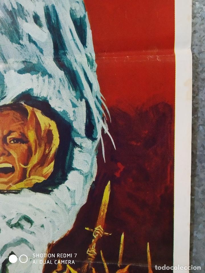 Cine: El ataque de los muertos sin ojos. Tony Kendall, Fernando Sancho, Esperanza Roy. POSTER ORIGINAL - Foto 4 - 176098233