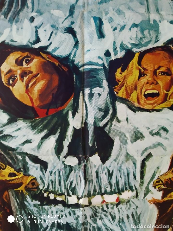 Cine: El ataque de los muertos sin ojos. Tony Kendall, Fernando Sancho, Esperanza Roy. POSTER ORIGINAL - Foto 10 - 176098233