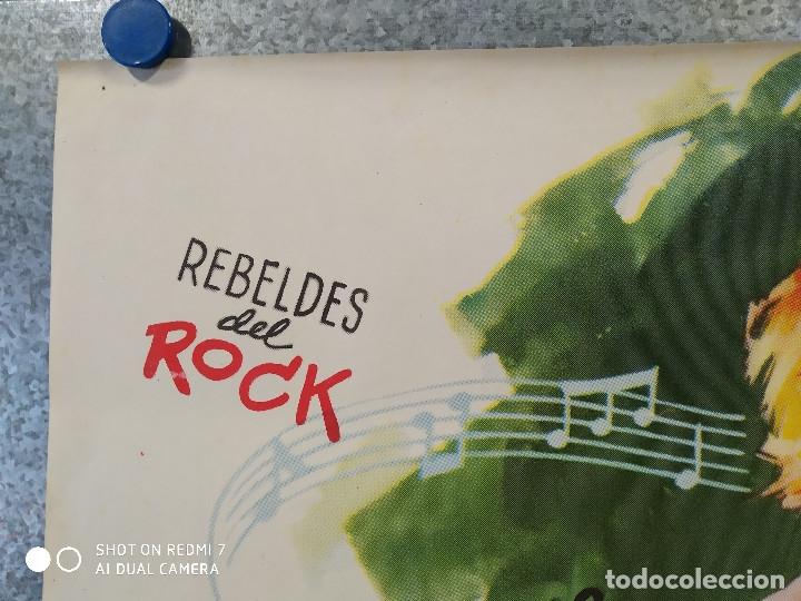 Cine: A RITMO DE TWIST. MARIA EUGENIA RUBIO, THE HOOLIGANS, REBELDES DEL ROCK, BEATNIKS AÑO 1963 POSTER - Foto 2 - 176105620