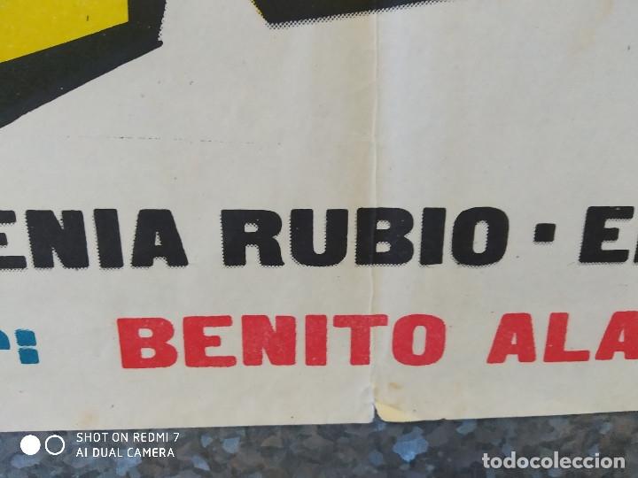 Cine: A RITMO DE TWIST. MARIA EUGENIA RUBIO, THE HOOLIGANS, REBELDES DEL ROCK, BEATNIKS AÑO 1963 POSTER - Foto 6 - 176105620