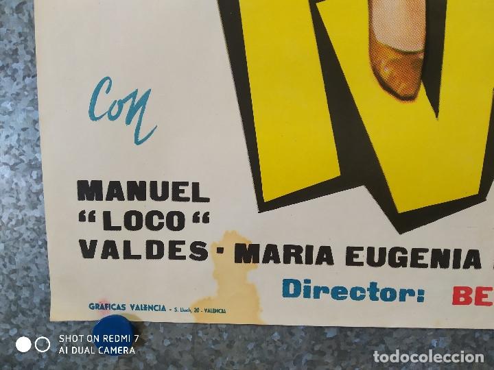 Cine: A RITMO DE TWIST. MARIA EUGENIA RUBIO, THE HOOLIGANS, REBELDES DEL ROCK, BEATNIKS AÑO 1963 POSTER - Foto 7 - 176105620