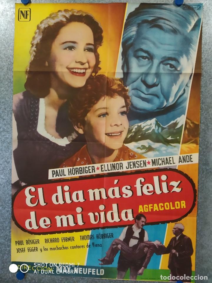 EL DIA MAS FELIZ DE MI VIDA. PAUL HORBIGER, ELLINOR HENSEN, MICHAEL ANDE. POSTER ORIGINAL (Cine- Posters y Carteles - Drama)