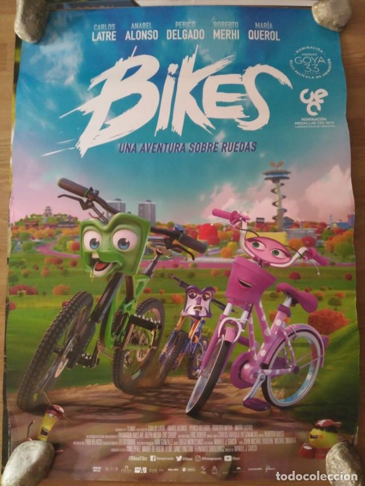 BIKES - APROX 70X100 CARTEL ORIGINAL CINE (L68) (Cine - Posters y Carteles - Infantil)