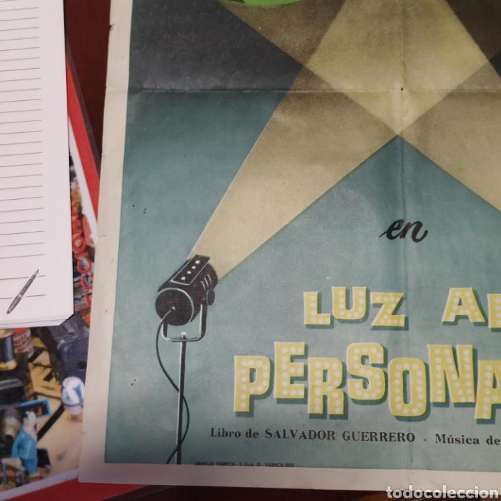 Cine: Cartel de teatro Luz al personaje - Foto 4 - 176284245