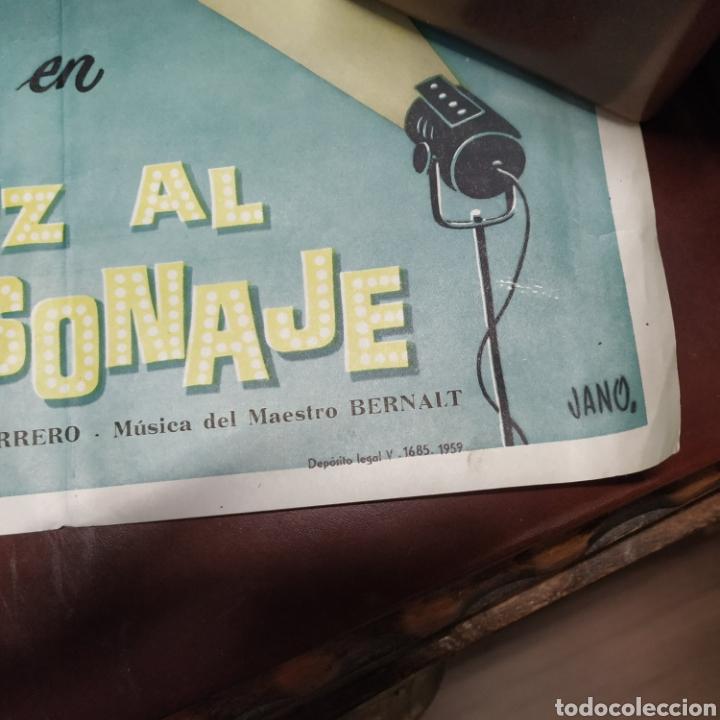 Cine: Cartel de teatro Luz al personaje - Foto 5 - 176284245