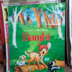 Cine: CARTEL BAMBI. Lote 176289220
