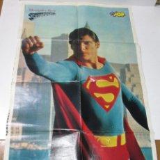 Cine: POSTER 73 X 44 CMTS. SUPERMAN, CHRISTOPHER REEVE, REGALO DE SUPER POP. Lote 176458813