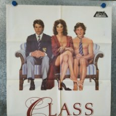 Cine: CLASS. JACQUELINE BISSET, ANDREW MCCARTHY, ROB LOWE, JOHN CUSACK AÑO 1983 POSTER ORIGINAL. Lote 176576620