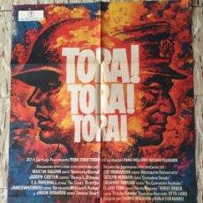 Cine: CARTEL POSTER ORIGINAL CINE TORA TORA TORA 70 X 100 APROX MACARIO GOMEZ MAC. Lote 176622368