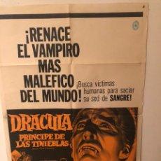 Cine: CÀRTEL DRÀCULA PRINCIPE DE LAS TINIEBLAS. Lote 176889103