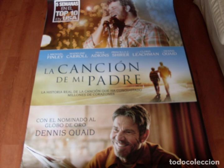 LA CANCION DE MI PADRE - CARTEL ORIGINAL (Cine - Posters y Carteles - Musicales)